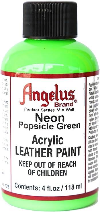Angelus 4oz Neon Paint (Popsicle Green