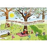 Klara und die Mäuse entdecken den Frühling: Kniebuchgeschichten zum Mitmachen und Erzählen