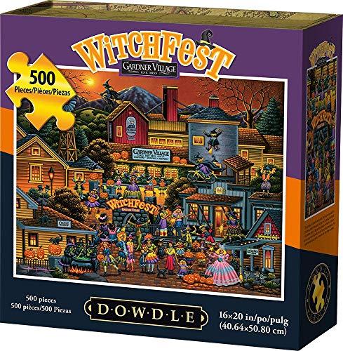 Dowdle Jigsaw Puzzle - Witchfest - 500 Piece
