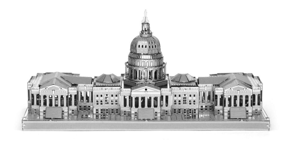 Metal Earth 3D Metal Model - US Capitol Building Fascinations MMS054