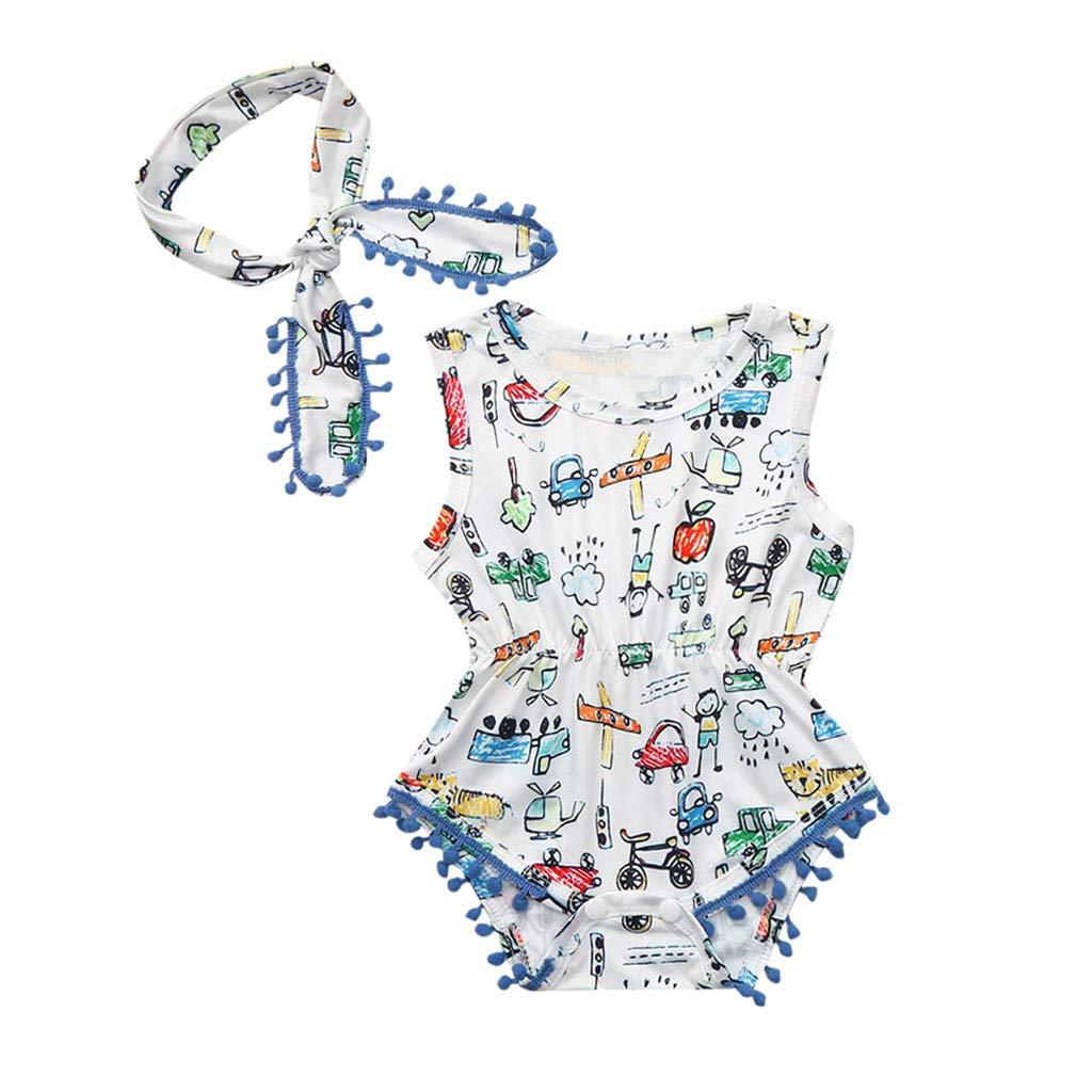 Baby Casual Dress,Fineser Newborn Kids Girls Suspender Sling Pineapple Print Ruffles Princess Dress Infant Sundress
