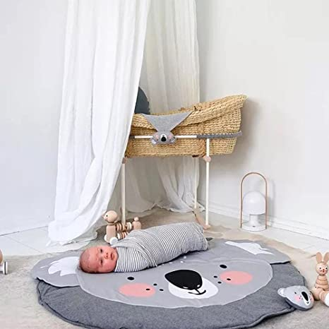 Amazon.com: Hiltow Cute Koala Baby Play Mat, Adventure Carpet ...