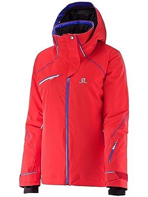 Salomon Speed Jacket - Women's Infrared Large