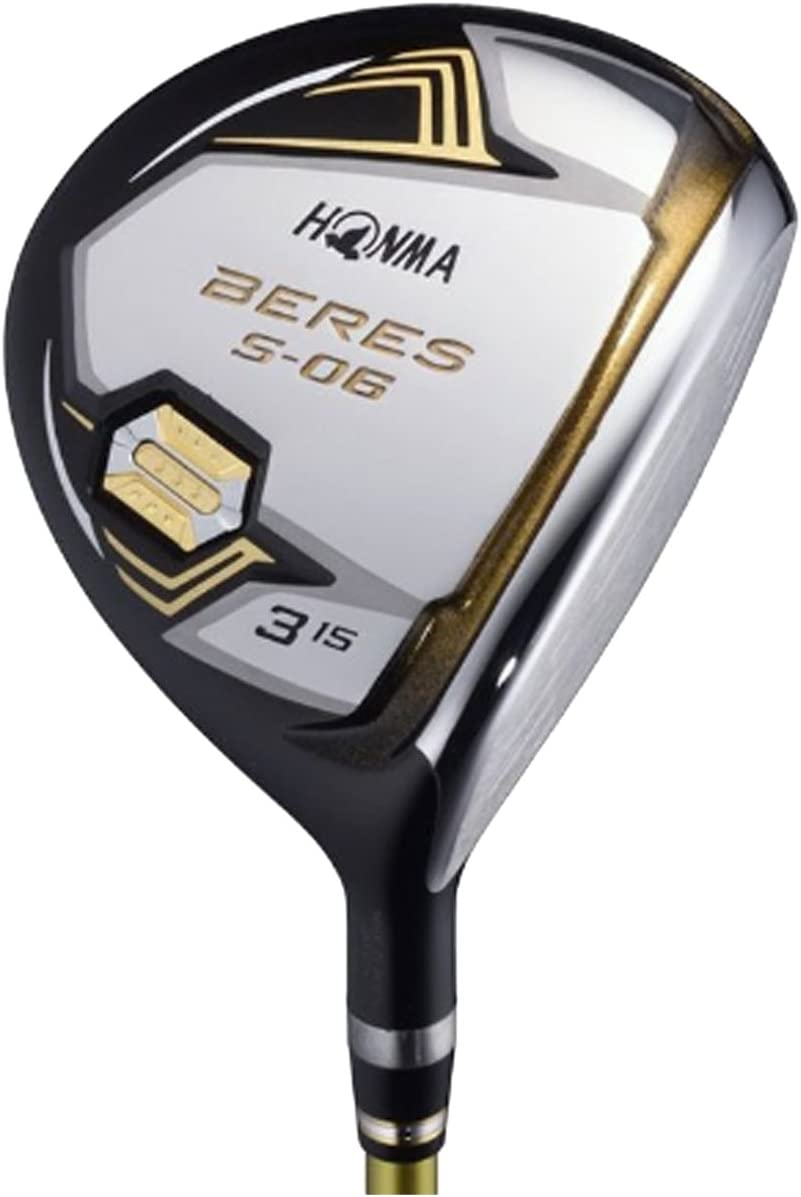 本間ゴルフ フェアウェイウッド BERES S-06 フェアウェイウッド ARMRQ X-43 3S シャフト カーボン メンズ S-06 FW 右 ロフト角:21度 番手:7W フレックス:S