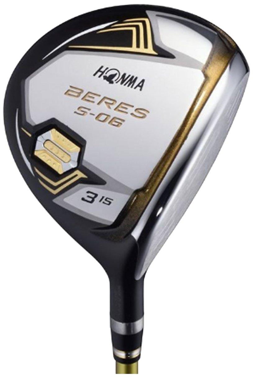 本間ゴルフ フェアウェイウッド BERES S-06 フェアウェイウッド ARMRQ X-47 3S シャフト カーボン メンズ S-06 FW 右 ロフト角:18度 番手:5W フレックス:S B078N5T82S