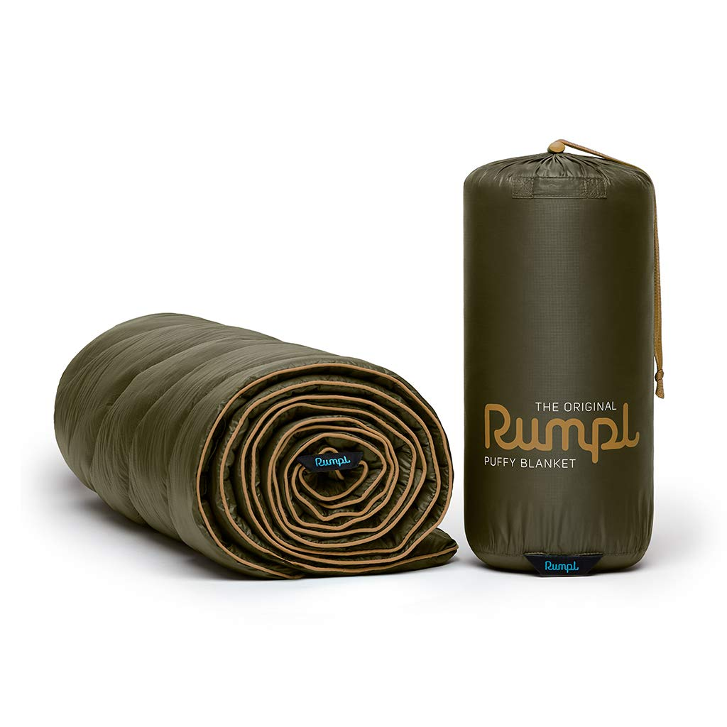 Rumpl The Original Puffy Indoor Outdoor Camping Blanket for Traveling, Picnics, Beach Trips, Concerts