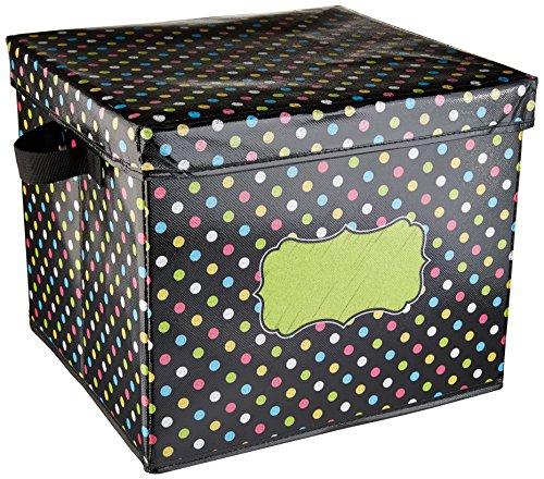 Chalkboard Brights Storage Box (Teacher Treasure Box)