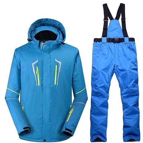 3952b4c4f4ba78 Zjsjacket Skijacke -30 Blue Man Schneeanzug setzt Outdoor-Snowboard ...