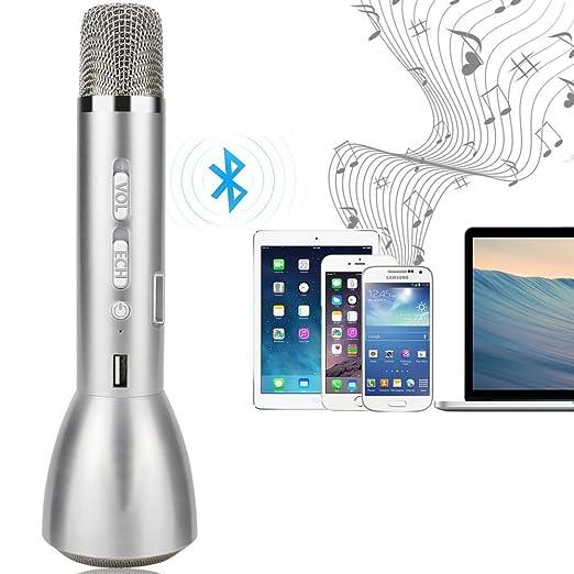 14 opinioni per Microfono Bluetooth wireless YFeel ordini dynamics / Karaoke Player microfono a