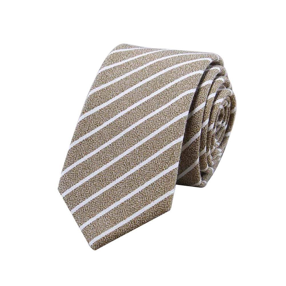 Gespout 1artículo Corbata a Rayas de Algodón para Hombres Traje de ...