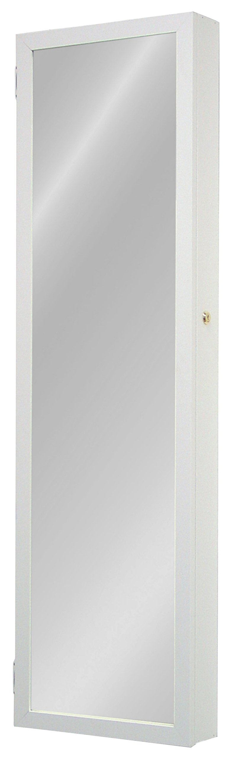 Plaza Astoria Wall/Door-Mount Jewelry Armoire, White by Plaza Astoria (Image #2)