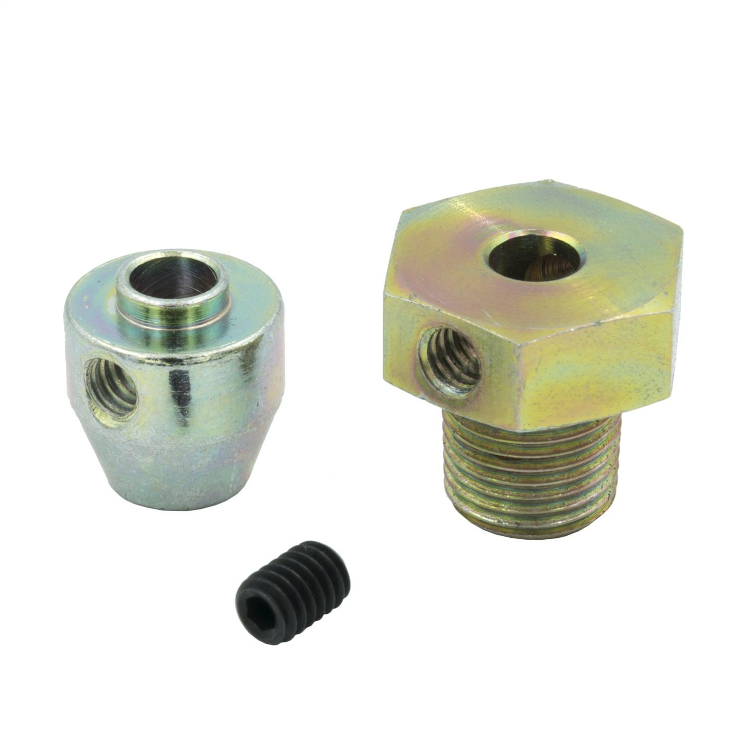 FITTING, THERMOCOUPLE, INCL SET SCREW, 1/8NPT MALE, STEEL