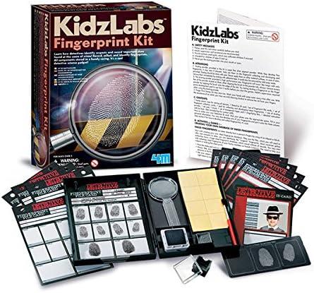 Experimentierset 4M KidzLabs Fingerabdruck Set