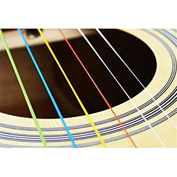 Cuerdas de Guitarra acoustiqu Nylon de primera calidad guitarra ...