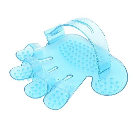 URIJK - Cepillo de masaje para mascotas, elimina pelo, gatos, perros y mascotas
