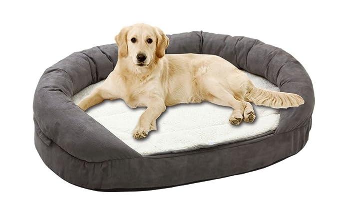 Karlie Flamingo funda de repuesto Ortho Bed ovalado gris para perros aislado cm x 72,0 cm x 24,0 cm: Amazon.es: Productos para mascotas