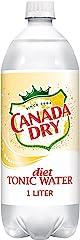 Diet Canada Dry Tonic Water, 1 Liter Bottle