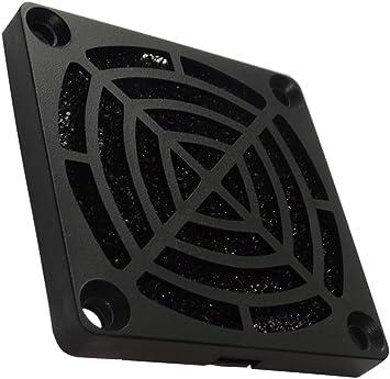 AERZETIX: 2 x Rejilla Negra de protección C15115 60x60mm ...