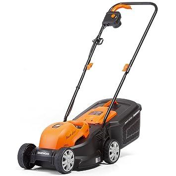 Daewoo DLM1200E Cortacésped Eléctrico 1200 W, Negro/Naranja: Amazon.es: Bricolaje y herramientas