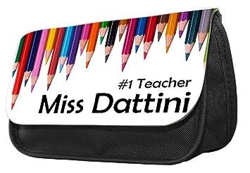 Estuche para lápices con temática de profesores ...