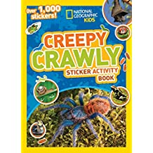 National Geographic Kids Creepy Crawly Sticker Activity Book: Over 1,000 Stickers!