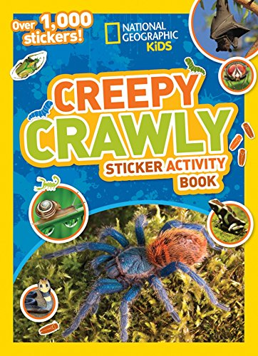 National Geographic Kids Creepy Crawly Sticker Activity Book: Over 1,000 Stickers! (NG Sticker Activity Books) -