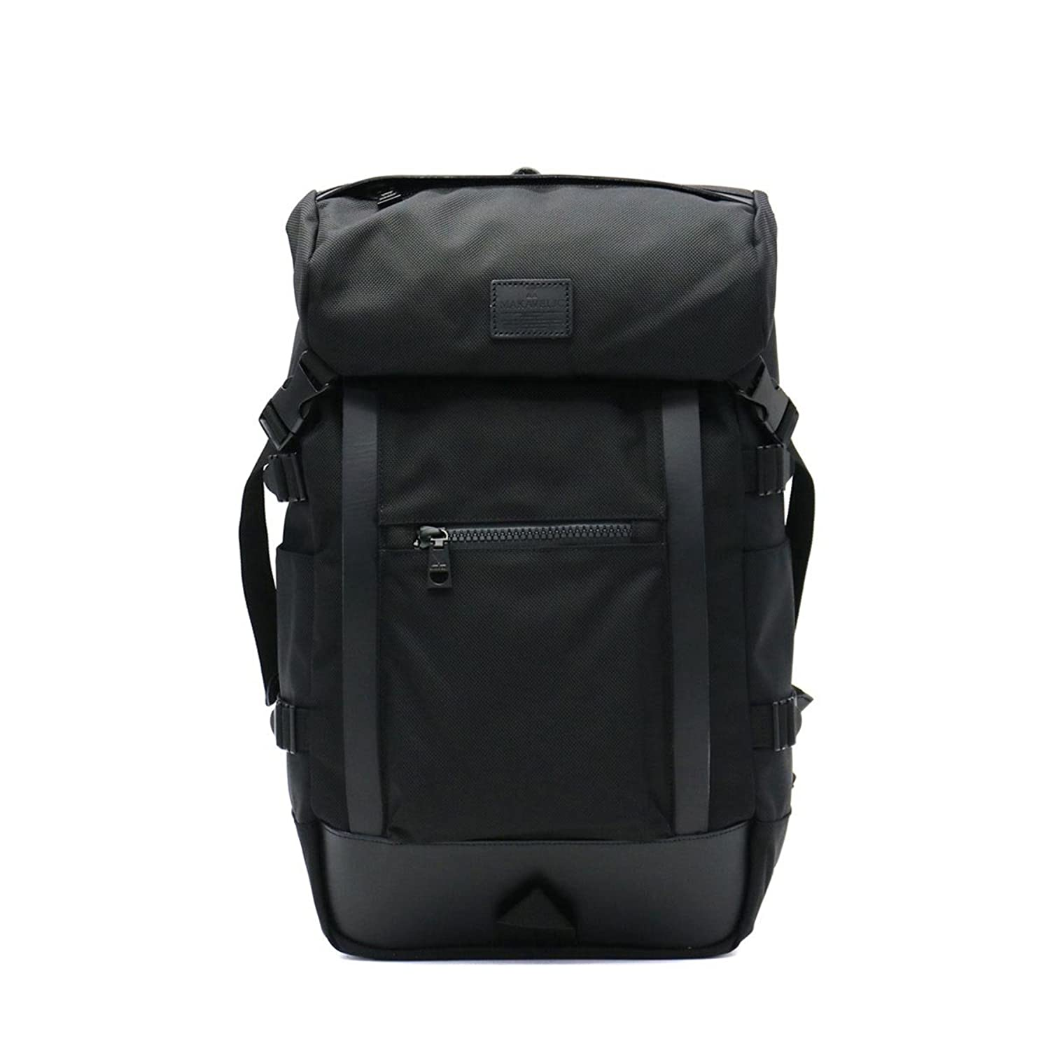 [マキャベリック]MAKAVELIC リュック Mens Ex DOUBLELINE BACKPACK 3108-10107 BLACK B07BVNDVQT
