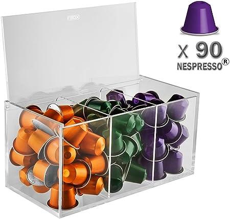 Leox – Soporte para cápsulas nespresso 90 Café soporte para ...