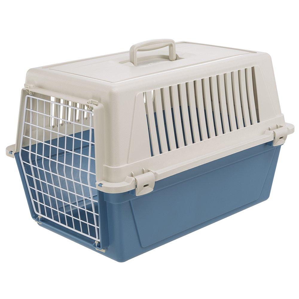 Ferplast Atlas 30 Cat and Dog Carrier, Blue