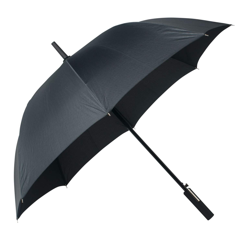 f78ed1021d Hugo Boss Grid City Parapluie Canne, 130 cm, Black: Amazon.fr: Bagages
