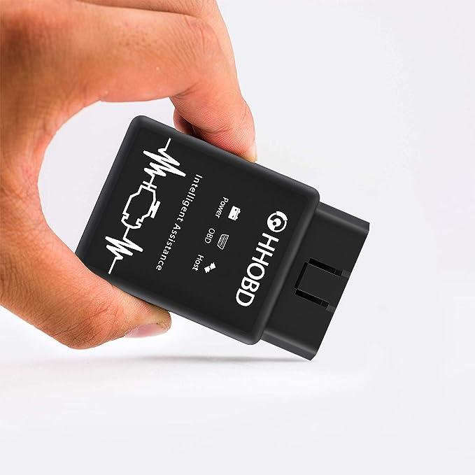 Coche OBD 2 el original EXZA/® HHOBD/® Bluetooth Par Android interfaz CAN BUS de diagn/óstico