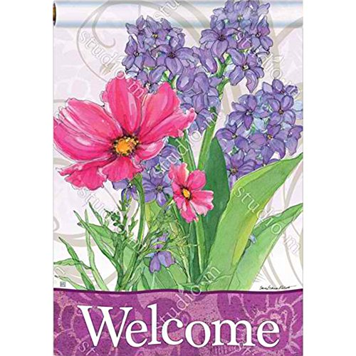 Magnet Works BreezeArt House Flag - Garden Bouquet