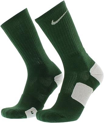 Nike Elite Socks (large, Green/White)