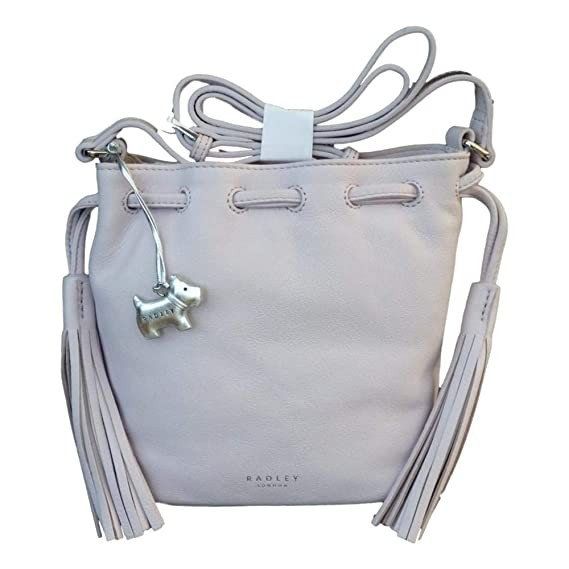 b0aa66d3b414f Image Unavailable. Image not available for. Colour: RADLEY 'Hello Sunshine'  Pale Lilac Leather Small Across Body Bag ...