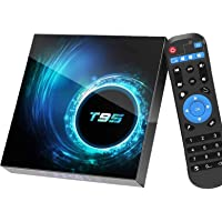 Android TV Box 10.0, Android Box with 4GB RAM 32GB ROM Allwinner Quad-core, Support 2.4GHz/5GHz Dual WiFi 6K/4K Ultra HD…