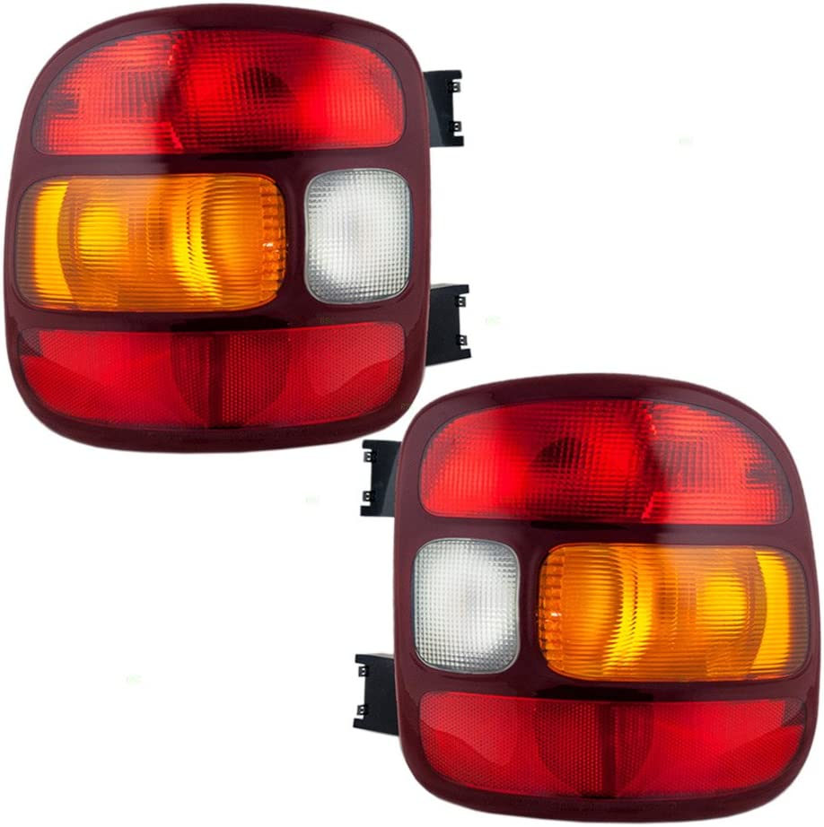 Silverado Sierra Stepside Truck Taillight Taillamp Light Lamp Left Driver Side L