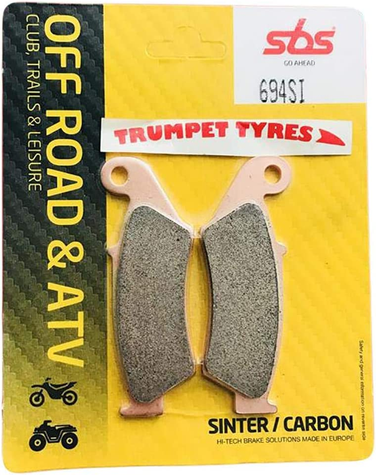 WR250F 01 02 03 04 05 06 07 08 09 10 11 12 13 SBS Performance Front Off Road Sintered Sinter Brake Pads Set Genuine OE Quality 694SI Yamaha WR 250 F
