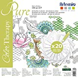 Artemio Collection Color Therapy Pure Scrapbooking Sheet to Color, Multi-Colour by Artemio