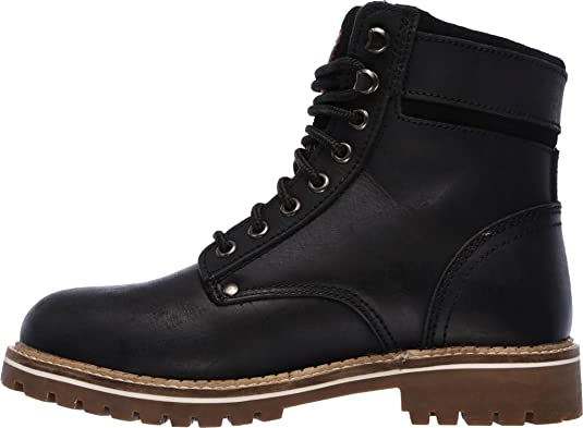 156a629d80c1d Amazon.com | Skechers Women's Work Brooten Steel Toe Boot | Boots