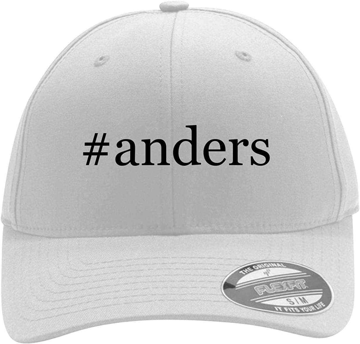 #Anders - Men'S Hashtag Flexfit Baseball Cap Hat