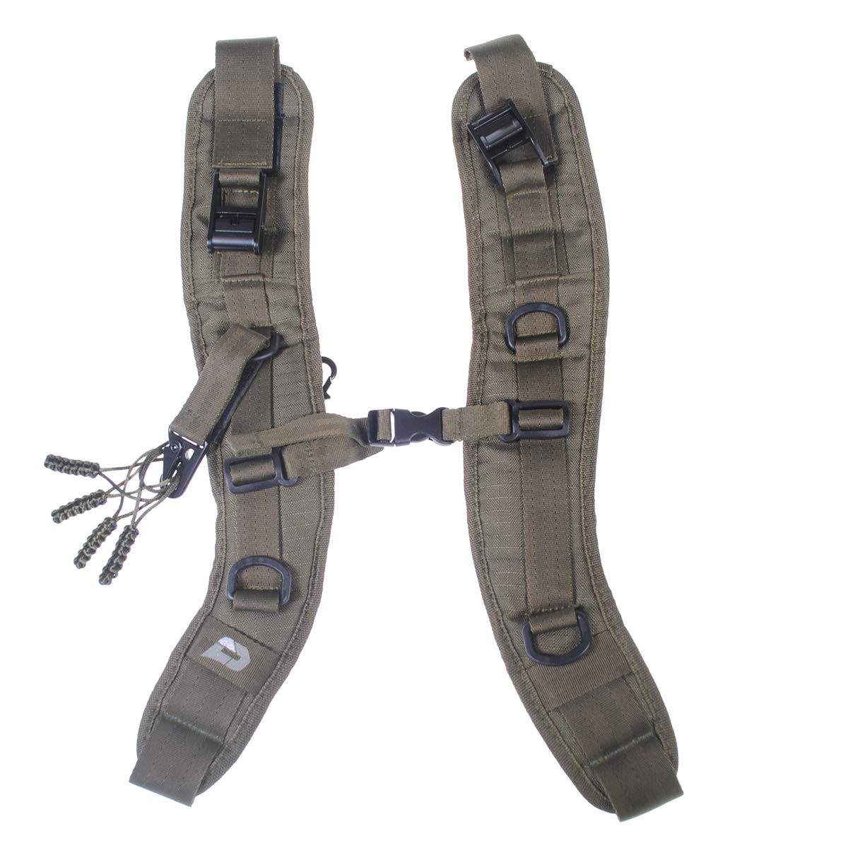 PUSH Paintball Backpack and Div1 Gear Bag Strap Kit (Olive)
