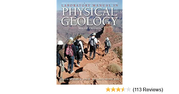 laboratory manual in physical geology 9th edition agi agi rh amazon com Physical Geology Laboratory Manual For Lugia EX Card