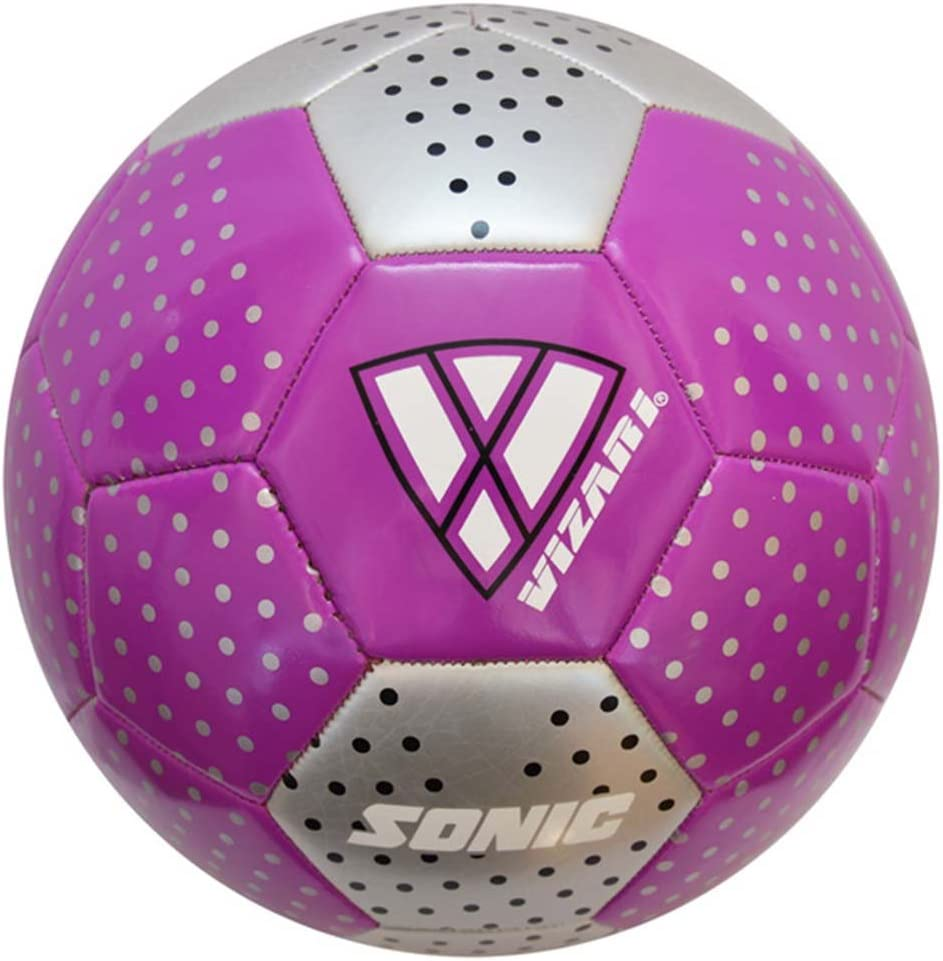 Vizari Sonic Soccer Ball Size Purple 5 Vizari Soccer 91753-5