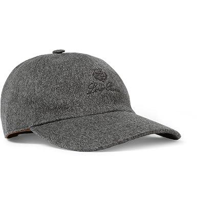1748efbb035 Loro Piana Storm System® Brushed-Cashmere Baseball Cap  Amazon.co.uk   Clothing