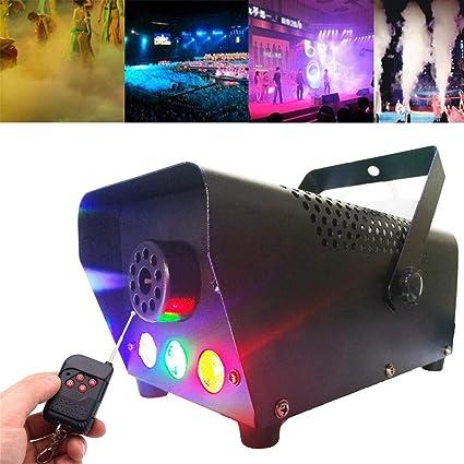 machine /à brouillard conduit verticale pour l/étape brumisateur disco partie club DJ d/écorations de Halloween 3000 Cufl//min mariage 500W LED Machine /à fum/ée avec T/él/écommande sans fil