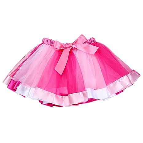 Falda de tutú de doble arcoíris para niñas con faldas de burbujas ...