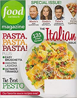 Food network magazine march 2011 the italian issue pasta pasta food network magazine march 2011 the italian issue pasta pasta pasta the best of pesto 131 great recipes vol 4 number 2 food network magazine forumfinder Image collections