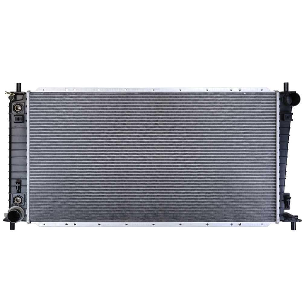 Prime Choice Auto Parts RK827 New Complete Aluminum Radiator