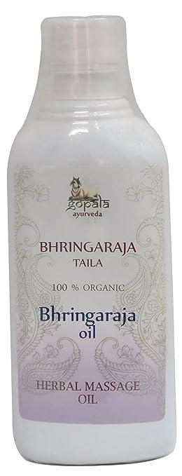 Bhringaraja Öl, Massage Öl traditionellen Ayurveda auf Kräuter-Öl ...