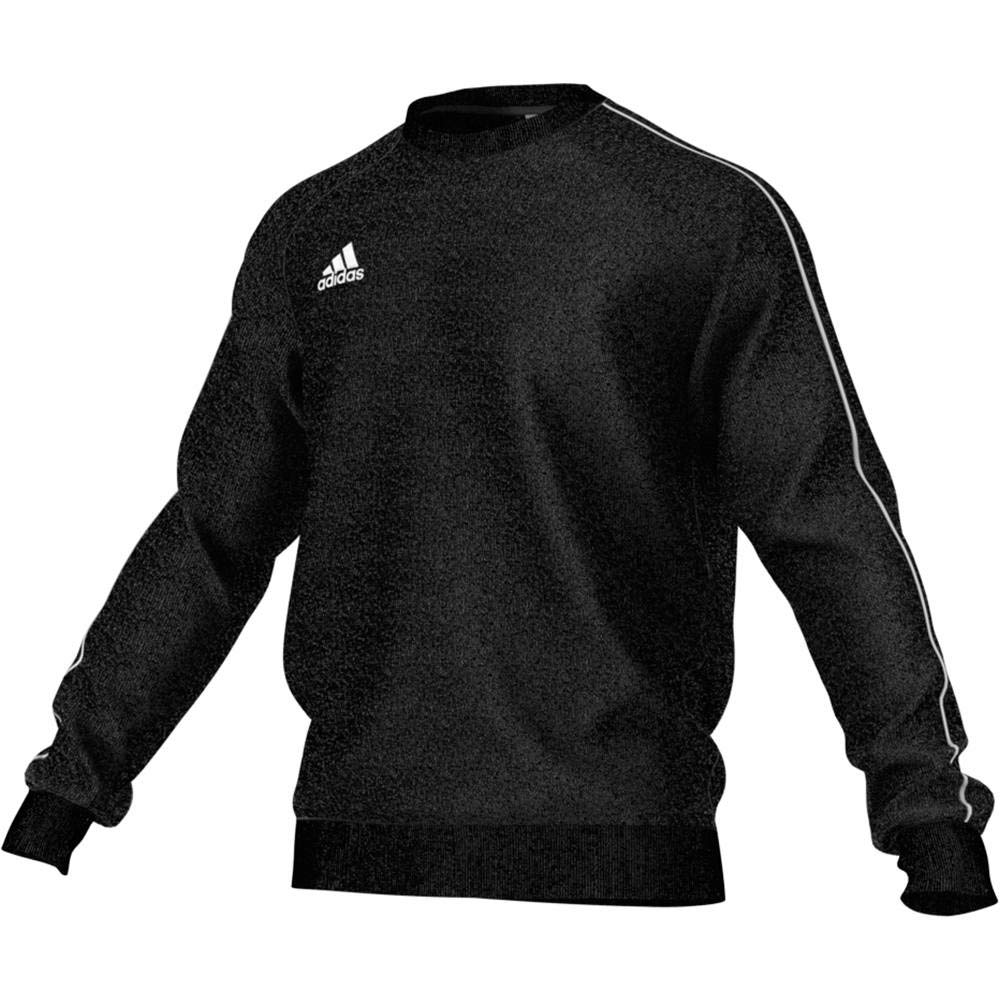 adidas Core 18 Sweat Top - Adult - Black/White - XXL by adidas
